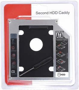 Caddy for Second Disk Drive
